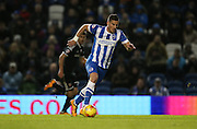 Brighton striker, Tomer Hemed (10) during the Sky Bet Championship match between Brighton and Hove Albion and Brentford at the American Express Community Stadium, Brighton and Hove, England on 5 February 2016.