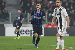December 7, 2018 - Milan, Piedmont, Italy - Mauro Icardi (FC Internazionale) during the Serie A football match between Juventus FC and FC Internazionale at Allianz Stadium on December 07, 2018 in Turin, Italy..Juventus won 1-0 over Internazionale. (Credit Image: © Massimiliano Ferraro/NurPhoto via ZUMA Press)