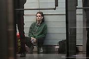 KRISTEN STEWART FILMING PERSONAL SHOPPER METRO IN PARIS .<br /> ©Exclusivepix Media