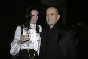 Trisha Simonon and Marc Quin, Aperiatur Terra, Private View of work by  Anselm Kiefer<br />
