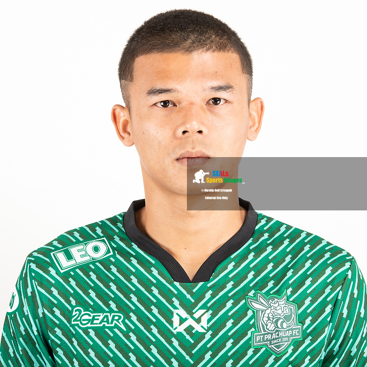 THAILAND - JUNE 24: Kwanchai Suklom #26 of PT Prachuap FC on June 24, 2019.<br /> .<br /> .<br /> .<br /> (Photo by: Naratip Golf Srisupab/SEALs Sports Images/MB Media Solutions)