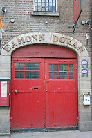 Doors to Eamonn Doran's Bar, Temple Bar, Dublin, Ireland