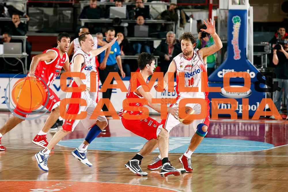 DESCRIZIONE : Varese Lega A 2009-10 Cimberio Varese Bancatercas Teramo<br /> GIOCATORE : Drake Diener<br /> SQUADRA : Bancatercas Teramo<br /> EVENTO : Campionato Lega A 2009-2010 <br /> GARA : Cimberio Varese Bancatercas Teramo<br /> DATA : 06/02/2010<br /> CATEGORIA : Palleggio<br /> SPORT : Pallacanestro <br /> AUTORE : Agenzia Ciamillo-Castoria/G.Cottini<br /> Galleria : Lega Basket A 2009-2010 <br /> Fotonotizia : Varese Campionato Italiano Lega A 2009-2010 Cimberio Varese Bancatercas Teramo<br /> Predefinita :