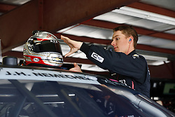 July 20, 2018 - Loudon, New Hampshire, United States of America - John Hunter Nemechek (42) hangs out in the garage during practice for the Lakes Region 200 at New Hampshire Motor Speedway in Loudon, New Hampshire. (Credit Image: © Justin R. Noe Asp Inc/ASP via ZUMA Wire)