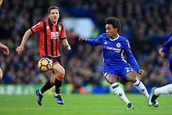 Willian of Chelsea on the attack - Mandatory by-line: Jason Brown/JMP - 26/12/2016 - FOOTBALL - Stamford Bridge - London, England - Chelsea v Bournemouth - Premier League