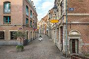 Rue des vieux murs dans le quartier du vieux Lille // View of rue des vieux murs street in Lille old twn area