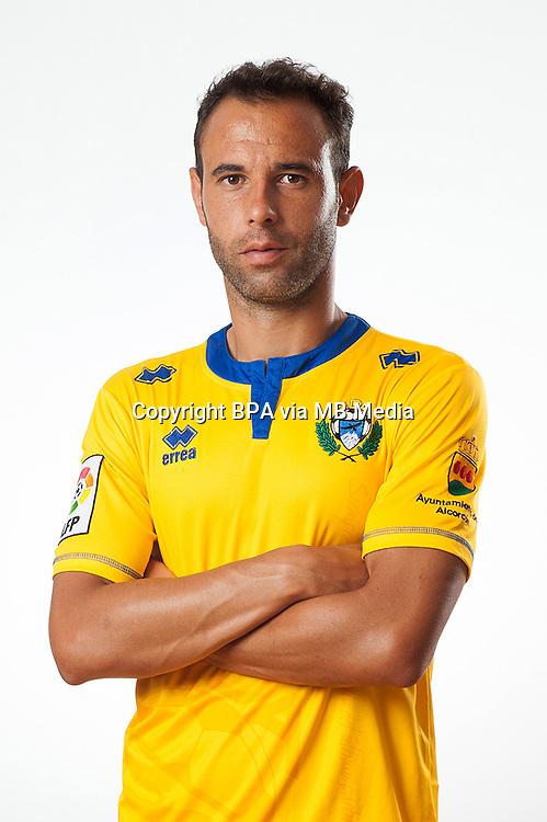 Spain - La Liga Adelante 2014-2015 / <br /> ( A.D. Alcorcon ) - <br /> Angel Sanchez Martin