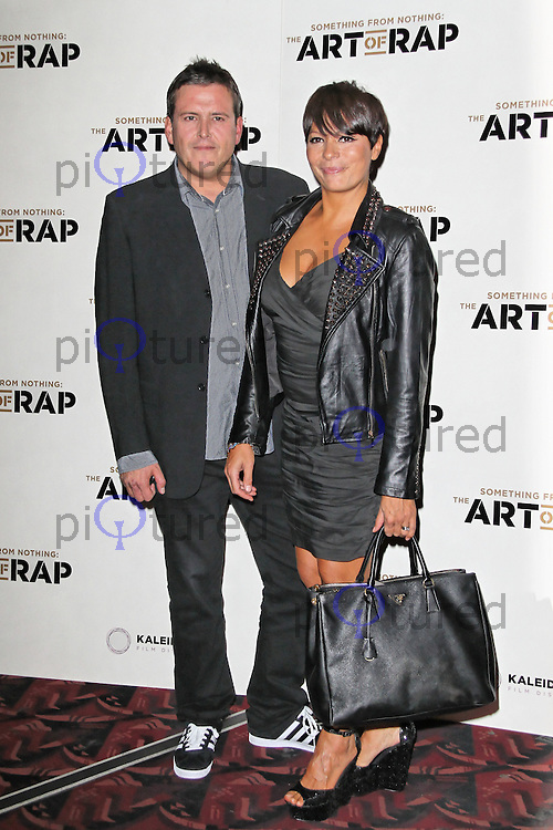 HAMMERSMITH - JULY 19: Paul Toogood; Betty Boo attended the European Premiere of 'Something from Nothing: The Art of Rap' at the Hammersmith Apollo, London, UK. July 19, 2012. (Photo by Richard Goldschmidt)