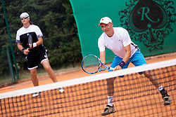 Recreational-veteran national championship of Slovenia at ATP Challenger Zavarovalnica Sava Slovenia Open 2018, on August 4, 2018 in Sports centre, Portoroz/Portorose, Slovenia. Photo by Urban Urbanc / Sportida