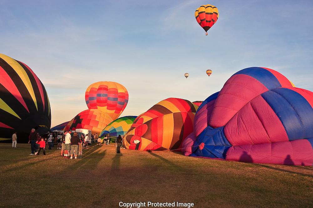 Hot Air balloon festival in Yuma Arizona.