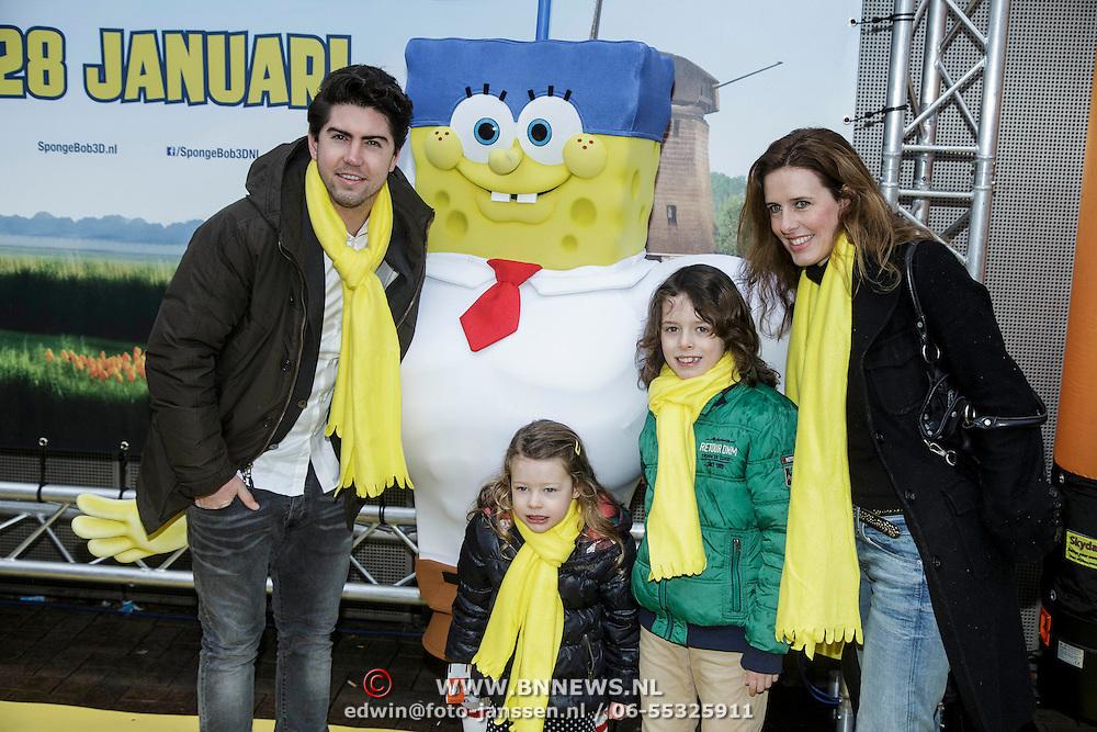 NLD/Amsterdam/20150125 - Premiere Spongebob in 3D - Sponge op het Droge,
