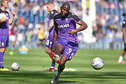 Stoke City striker (on loan from Wolverhampton Wanderers) Benik Afobe (9) during the EFL Sky Bet Championship match between West Bromwich Albion and Stoke City at The Hawthorns, West Bromwich, England on 1 September 2018.