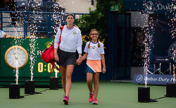 February 22, 2019 - Dubai, ARAB EMIRATES - Petra Kvitova of the Czech Republic walks on court for her semi-final  match at the 2019 Dubai Duty Free Tennis Championships WTA Premier 5 tennis tournament (Credit Image: © AFP7 via ZUMA Wire)