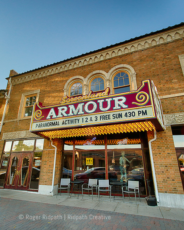 historic screenland armour theater Kansas City Missouri