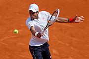 Roland Garros. Paris, France. May 28th 2012.Serbian player Novak DJOKOVIC against Potito STARACE.