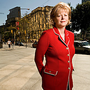Portraits of Barbara Stymiest, Group Head of Strategy, Treasury, and Corporate Services at the Royal Bank of Canada (RBC).  Photographed in Toronto, Canada by Brian Smale, for Fortune Magazine's list of the world's most powerful women. Barbara Stymiest, Royal Bank of Canada.  Photographed in Toronto by Brian Smale for Fortune Magazine.