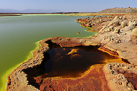Dallol Volcano  Danakil depression  Ethiopia
