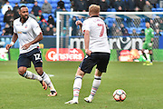 Bolton Wanderers Midfielder, Liam Trotter (17) and Bolton Wanderers Midfielder,  Chris Taylor (7) during the The FA Cup match between Bolton Wanderers and Grimsby Town FC at the Macron Stadium, Bolton, England on 5 November 2016. Photo by Mark Pollitt.