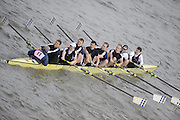Putney/Barnes,  Great Britain,  top London 2 -  2008 Head of the River Race. Raced from Mortlake to Putney, over the Championship Course.  15/03/2008  [Mandatory Credit. Peter Spurrier/Intersport Images] Rowing Course: River Thames, Championship course, Putney to Mortlake 4.25 Miles,