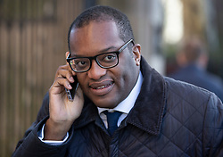 © Licensed to London News Pictures. 28/01/2019. London, UK. Conservative MP Kwasi Kwarteng walks to Parliament ahead of crucial votes on Brexit amendments. Photo credit: Peter Macdiarmid/LNP