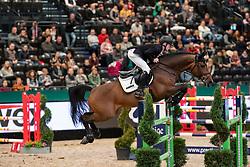 EHNING Marcus (GER), Comme il faut<br /> Leipzig - Partner Pferd 2019<br /> Eröffnungsspringen<br /> 17. Januar 2019<br /> © www.sportfotos-lafrentz.de/Stefan Lafrentz