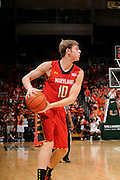 January 13, 2013: Jake Layman #10 of Maryland in action during the NCAA basketball game between the Miami Hurricanes and Maryland Terrapins at the BankUnited Center in Coral Gables, FL. The Hurricanes defeated the Terrapins 54-47.