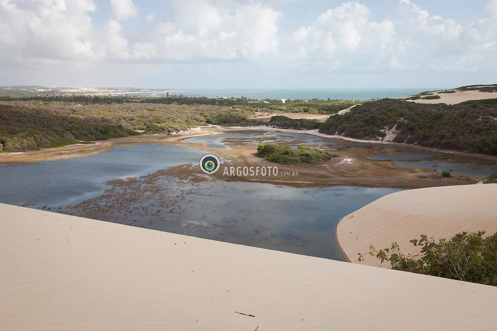 Lagoa de Genipabu em  Natal./ Genipabu Lagoon in Natal. Rio Grande do Norte, Brasil - 2013