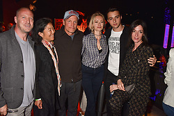 "Matthew Freud, Laura Louie, Woody Harrelson, Camilla al-Fayed, Arthur Donald, Mary McCartney at ""Hoping For Palestine"" Benefit Concert For Palestinian Refugee Children held at The Roundhouse, Chalk Farm Road, England. 04 June 2018. <br /> Photo by Dominic O'Neill/SilverHub 0203 174 1069/ 07711972644 - Editors@silverhubmedia.com"