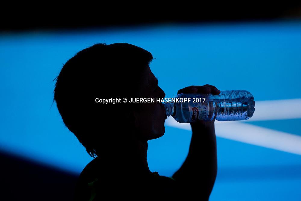MARVIN MOELLER (GER) Junioren Wettbewerb<br /> <br /> Australian Open 2017 -  Melbourne  Park - Melbourne - Victoria - Australia  - 22/01/2017.