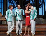 Ariadne auf Naxos- Glyndebourne Festival Opera, <br /> Directed by Katherine Thomas <br /> Set Design Julia Muer<br /> Lighting - Olaf Winter.<br /> <br /> Erin Morely as Zerbinetta