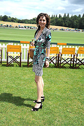 MARIE HELVIN at the 2008 Veuve Clicquot Gold Cup polo final at Cowdray Park Polo Club, Midhurst, West Sussex on 20th July 2008.<br /> <br /> NON EXCLUSIVE - WORLD RIGHTS