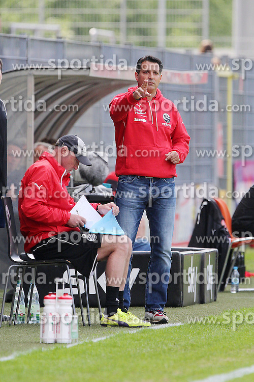 17.05.2015, Hardtwald, Sandhausen, GER, 2. FBL, SV 1916 Sandhausen vs Fortuna Duesseldorf, 33. Runde, im Bild Alois Schwartz (Trainer/SV Sandhausen) // during the 2nd German Bundesliga 33th round match between SV 1916 Sandhausen and Fortuna Duesseldorf at the Hardtwald in Sandhausen, Germany on 2015/05/17. EXPA Pictures &copy; 2015, PhotoCredit: EXPA/ Eibner-Pressefoto/ Bermel<br /> <br /> *****ATTENTION - OUT of GER*****