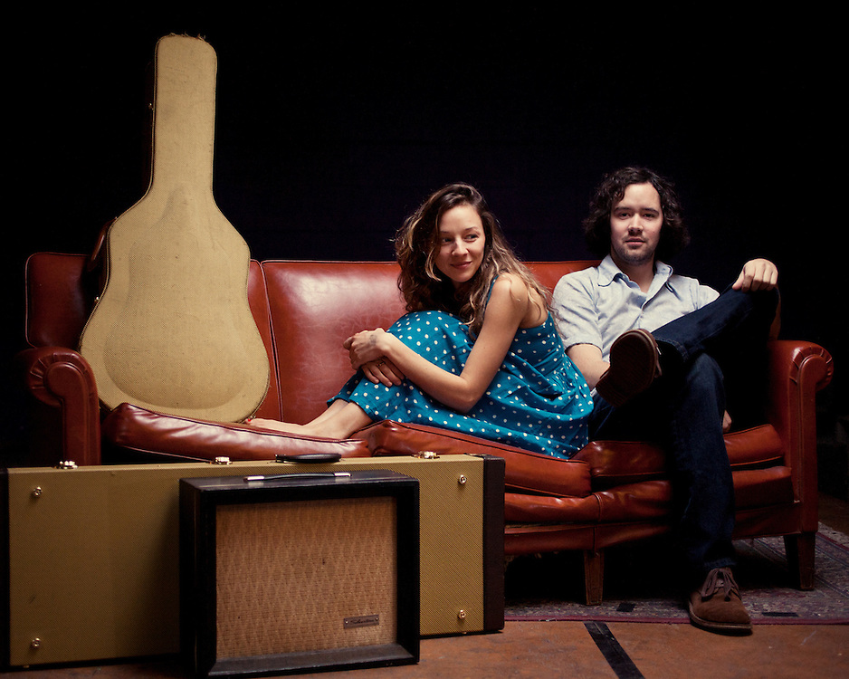 Mandolin Orage: Emily Frantz and Andrew Marlin, Chapel Hill, North Carolina, February 2012. ..