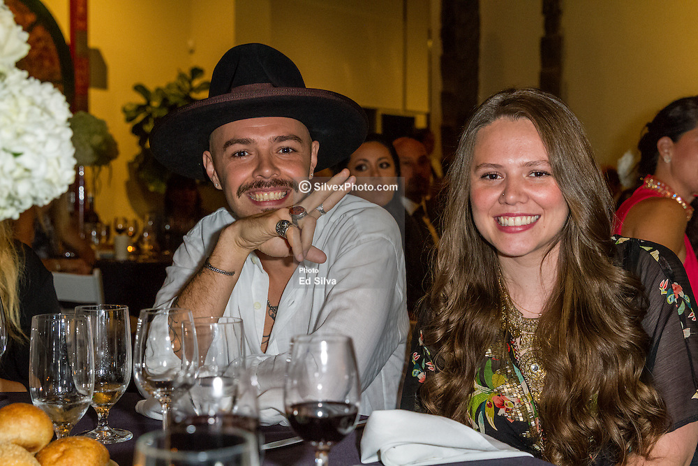 SANTA ANA, CA - OCT 10:  Latin Grammy winner Jesse y Joy attends ParaTodos Magazine 20th Anniversary Gala at the Bower Museum on 10th of October, 2015 in Santa Ana, California. Byline, credit, TV usage, web usage or linkback must read SILVEXPHOTO.COM. Failure to byline correctly will incur double the agreed fee. Tel: +1 714 504 6870.