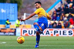 Jacob Mellis of Mansfield Town makes a through pass - Mandatory by-line: Ryan Crockett/JMP - 02/02/2019 - FOOTBALL - One Call Stadium - Mansfield, England - Mansfield Town v Macclesfield Town - Sky Bet League Two