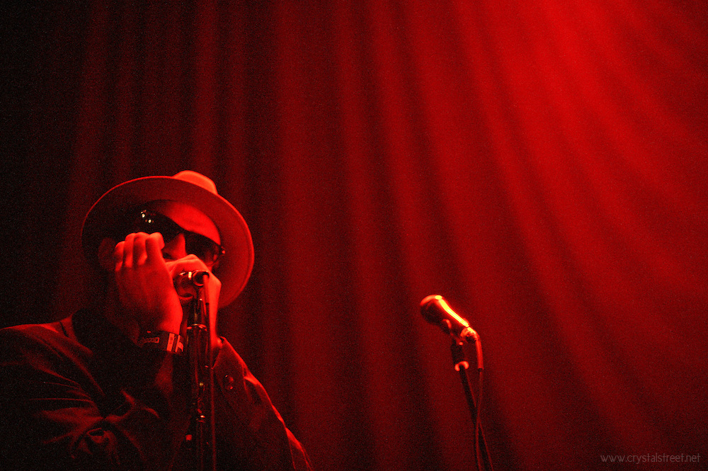 The Grand Strand Blues Allstars perform at the House of Blues in Myrtle Beach.