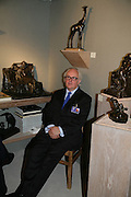 Gerry Farrell, Private Preview of the Grosvenor House Art and Antiques Fair. 13 June 2007.  -DO NOT ARCHIVE-© Copyright Photograph by Dafydd Jones. 248 Clapham Rd. London SW9 0PZ. Tel 0207 820 0771. www.dafjones.com.