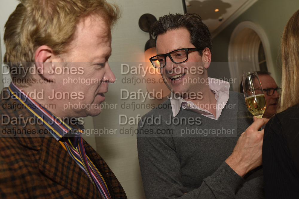 CHRISTOPHER SYLVESTER; WILLIAM SITWELL, The Datai Langkawi Relaunch event, Spring, Somerset House,  London. 1 March 2018