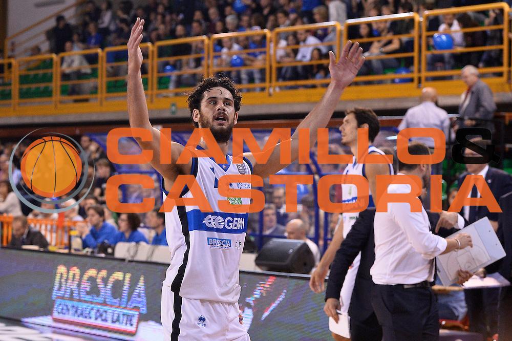 Luca Vitali<br /> Germani Basket Brescia - Red October Cantu'<br /> LegaBasket 2016/2017<br /> Brescia 09/10/2016<br /> Foto Ciamillo-Castoria
