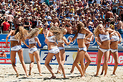 Zipfer girls at A1 Beach Volleyball Grand Slam tournament of Swatch FIVB World Tour 2010, semifinal, on August 1, 2010 in Klagenfurt, Austria. (Photo by Matic Klansek Velej / Sportida)