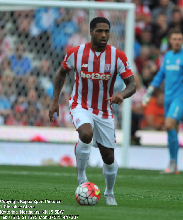 GLEN JOHNSON STOKE CITY NEW SIGNING, Liverpool FC, Stoke City v Liverpool, Premiership, Britannia Stadium Sunday 9th August 2015Stoke City v Liverpool, Premiership, Britannia Stadium Sunday 9th August 2015