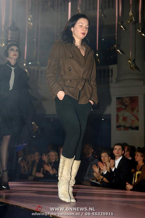 NLD/Amsterdam/20060126 - Uitreiking Elle Starstyle awards, modeshow Meike Beckers