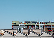 Milan,roof  landscape from Fondazione