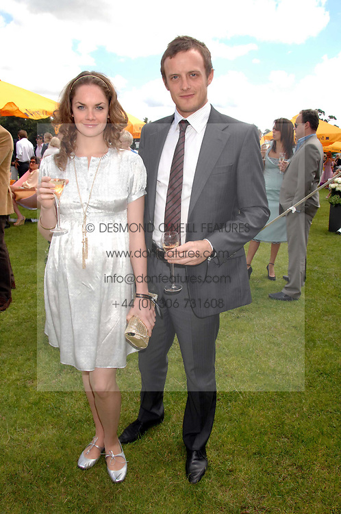 Actress RUTH WILSON and JAMES GOODSELL at the final of the Veuve Clicquot Gold Cup 2007 at Cowdray Park, West Sussex on 22nd July 2007.<br /><br />NON EXCLUSIVE - WORLD RIGHTS