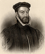 James Stewart, Earl of Moray (c1531-1570) Scottish statesman, known as 'The Good Regent' . Natural son of James V of Scotland and half-brother of Mary Queen of Scots.  Regent of Scotland during minority of James VI. Engraving from 'A Biographical Dictionary of Eminent Scotsmen' by Thomas Thomson (1870).