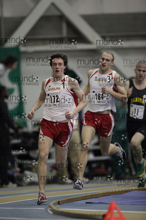 Windsor, Ontario ---13/03/09--- Kyle Boorsma of  the University of Guelph competes in the mens 3000 metres at the CIS track and field championships in Windsor, Ontario, March 13, 2009..GEOFF ROBINS Mundo Sport Images