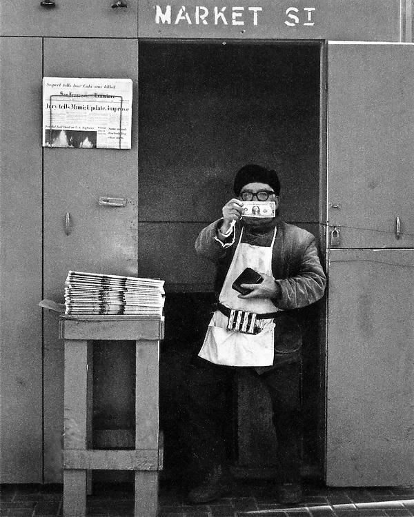 Show me the Money<br /> <br /> Market Street San Francisco 1974
