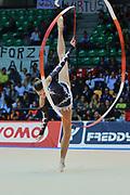 Alessia Marchetto atleta della società Virtus di Gallarate durante la seconda prova del Campionato Italiano di Ginnastica Ritmica.<br /> La gara si è svolta a Desio il 31 ottobre 2015.