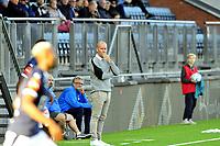 Fotball Tippeligaen 15.09.2019<br /> Gamle Gress Marienlyst stadion Drammen<br /> <br /> <br /> Resultat <br /> <br /> Strømsgodset  trener Henrik Pedersen<br /> <br /> <br /> Foto: Robert Christensen Digitalsport