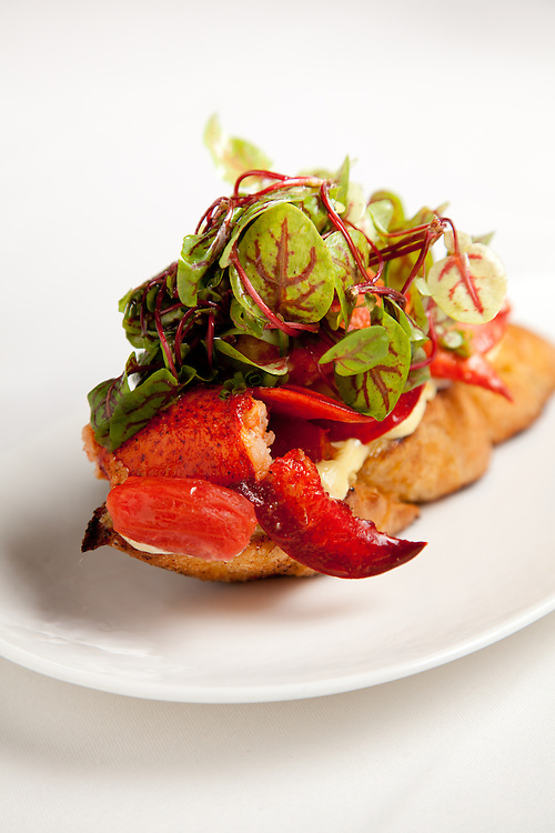 The Lobster Knuckle Sandwich, an appetizer at the Kelly English Steahouse at Harrah's Casino in Maryland Heights, MO.